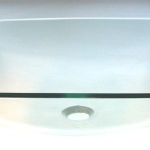 Kvadratisk glashåndvask Ø42